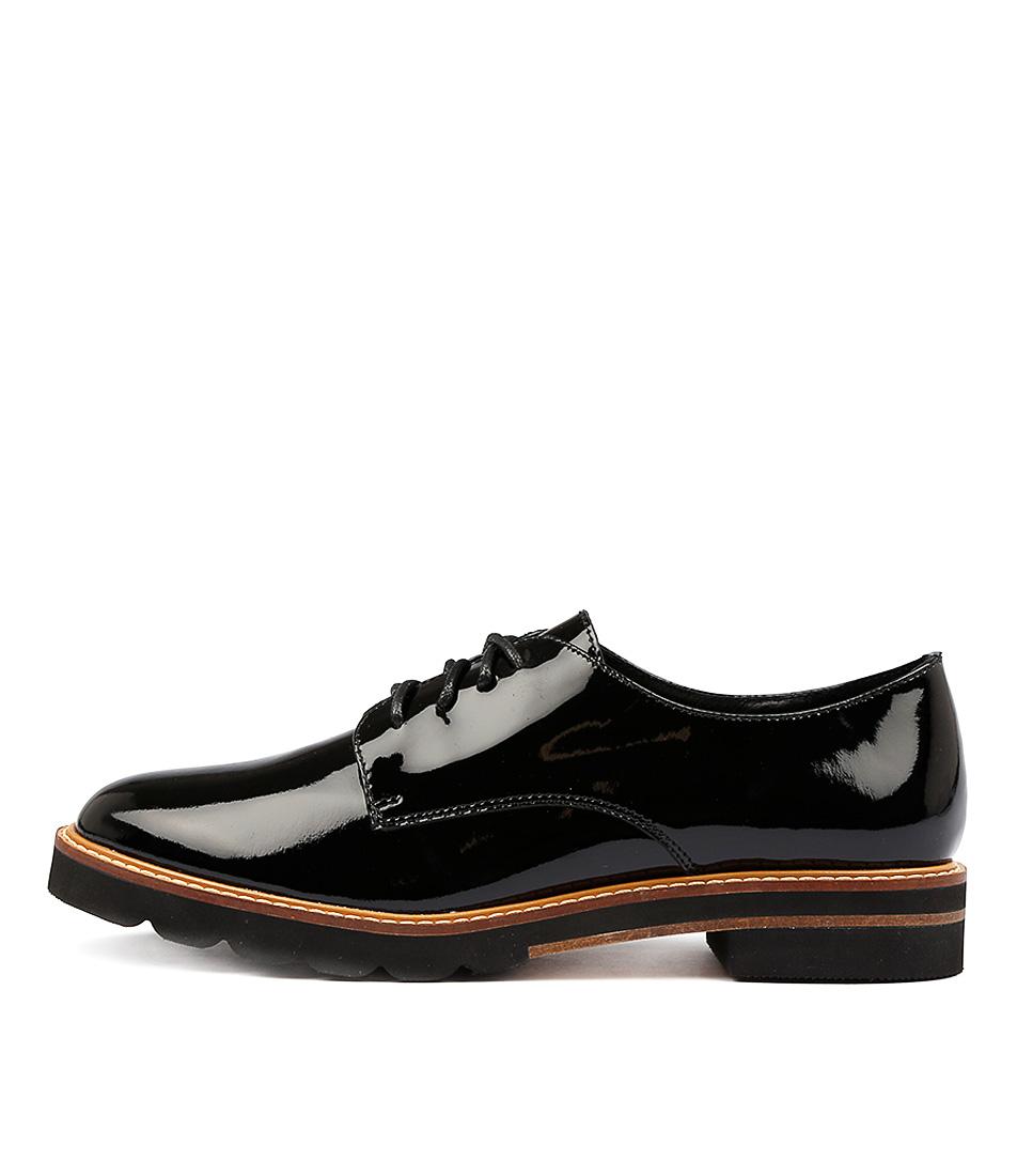 Alias Mae Harley Black Flat Shoes