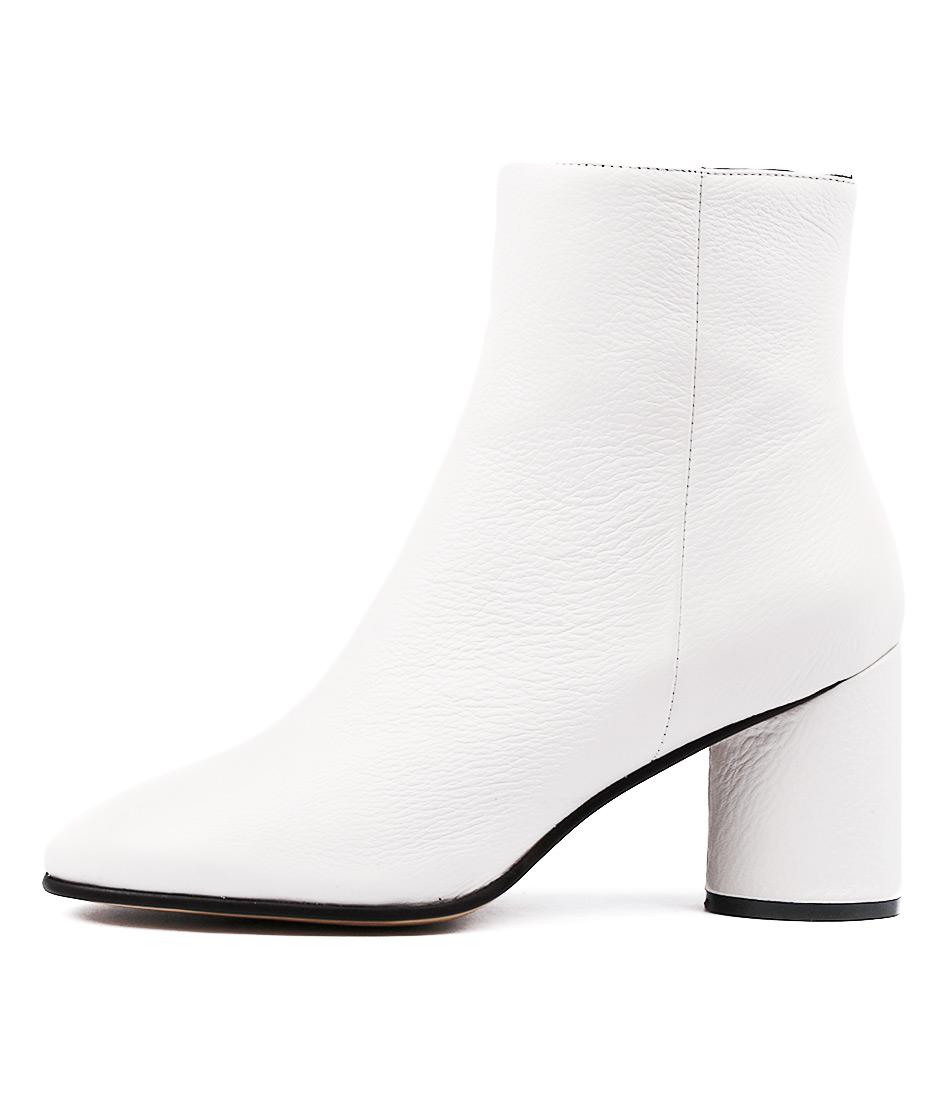 Alias Mae Zulu Am White Ankle Boots