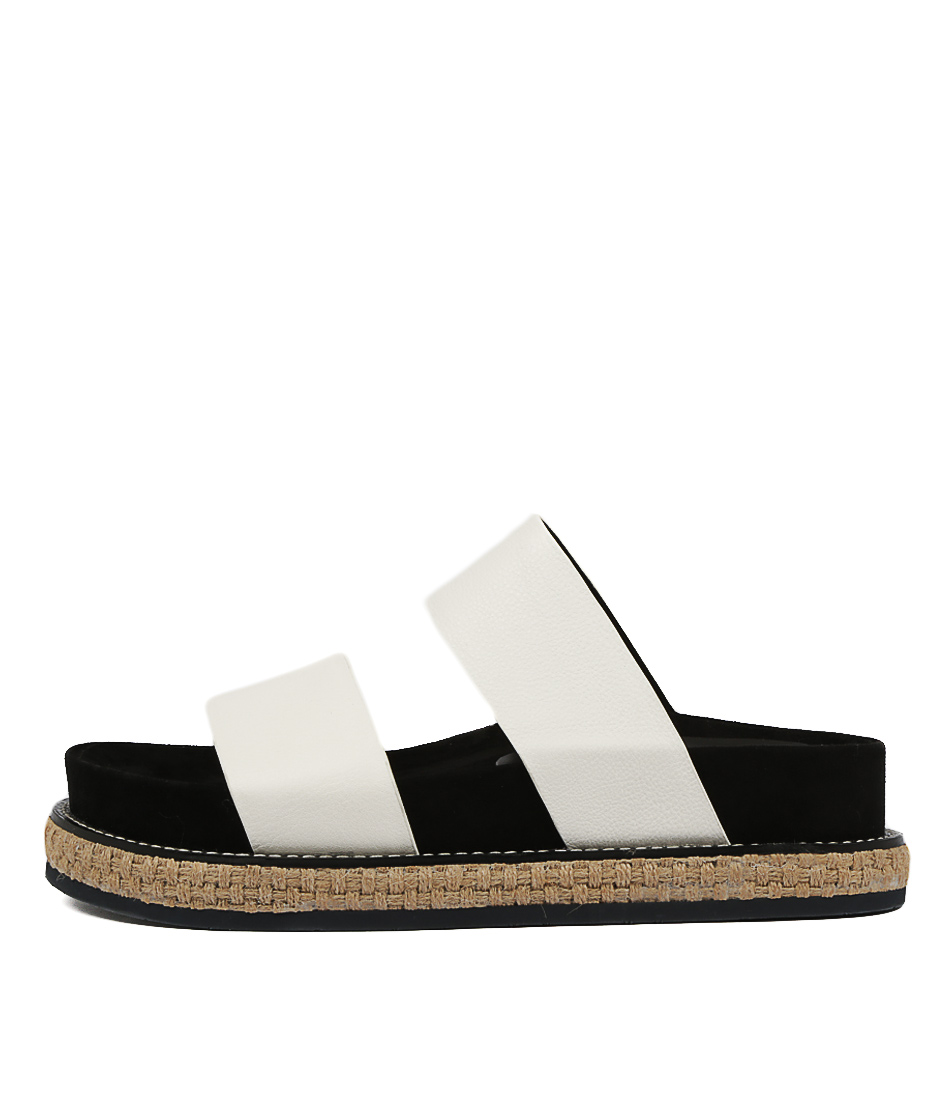 Buy Alias Mae Jemima Am White Flat Sandals online with free shipping