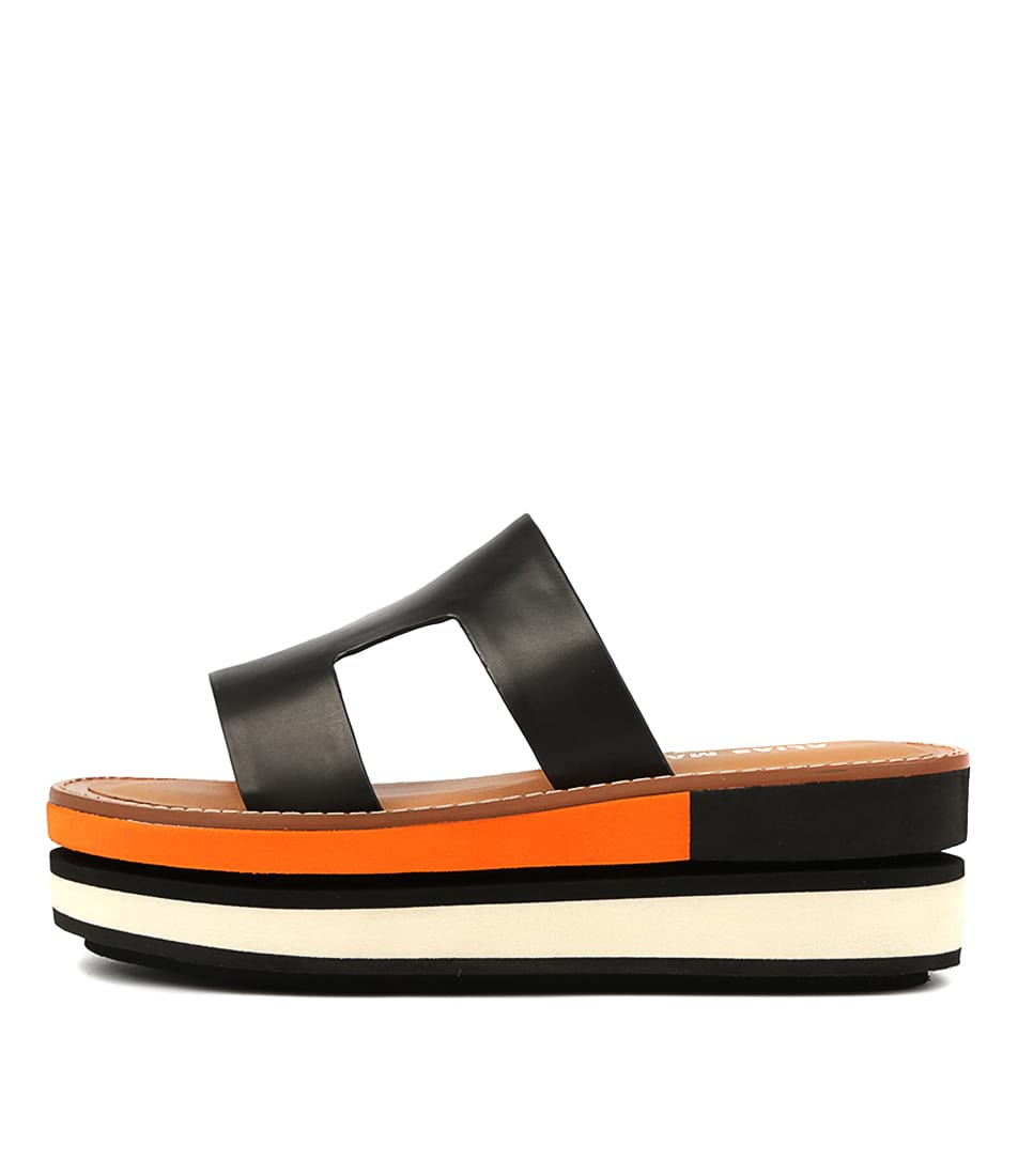 Buy Alias Mae Milly Am Black Heeled Sandals online with free shipping