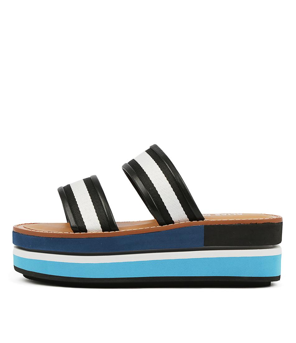 Buy Alias Mae Minnie Am Blue Flat Sandals online with free shipping