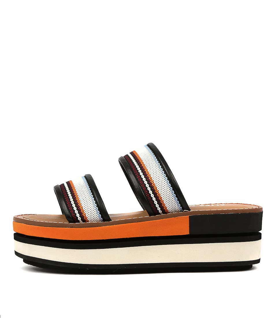 Buy Alias Mae Minnie Am Orange Flat Sandals online with free shipping
