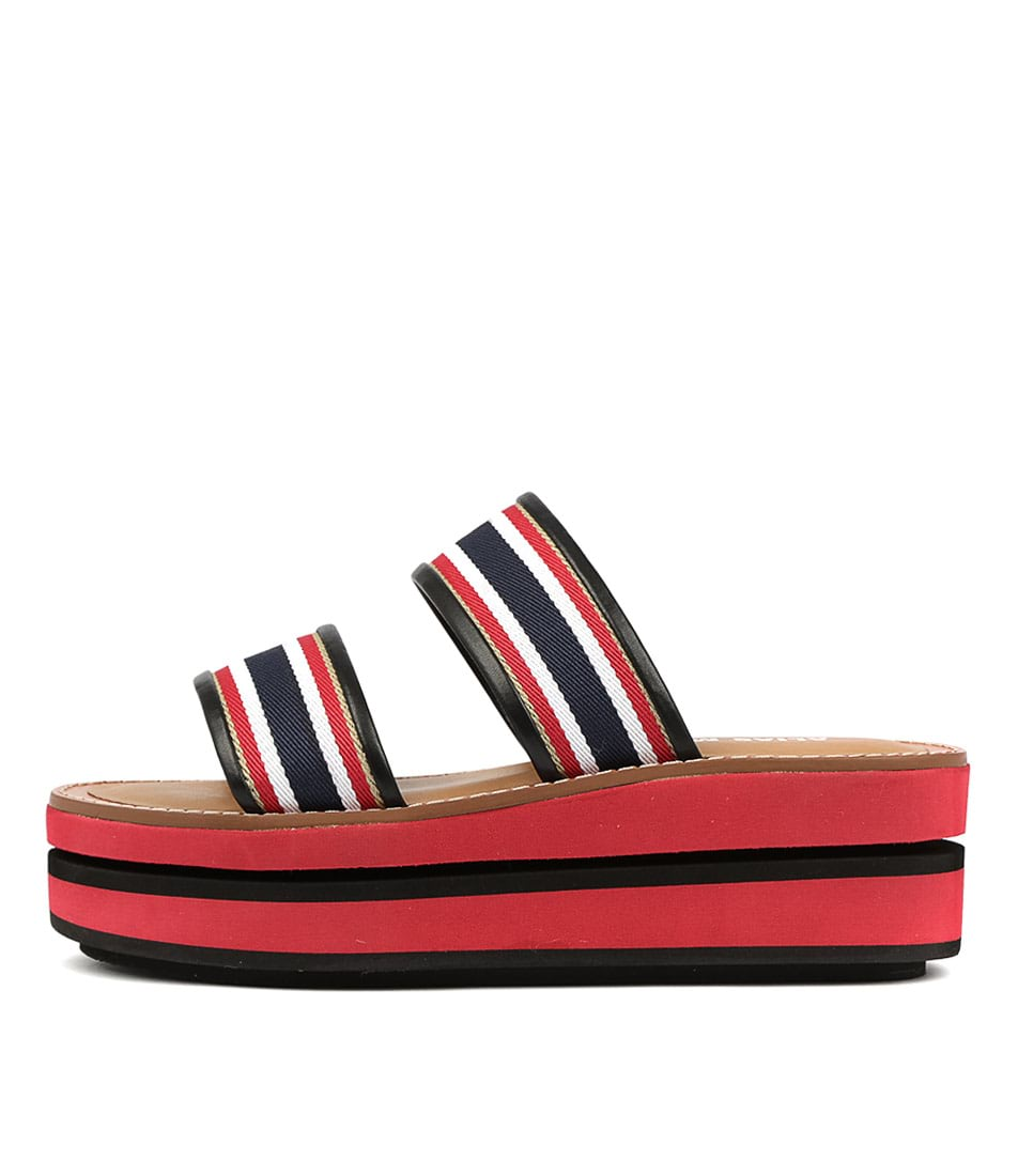Buy Alias Mae Minnie Am Red Navy Flat Sandals online with free shipping