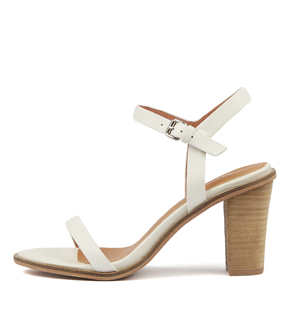 Buy Alias Mae Everly Am White Heeled Sandals online with free shipping