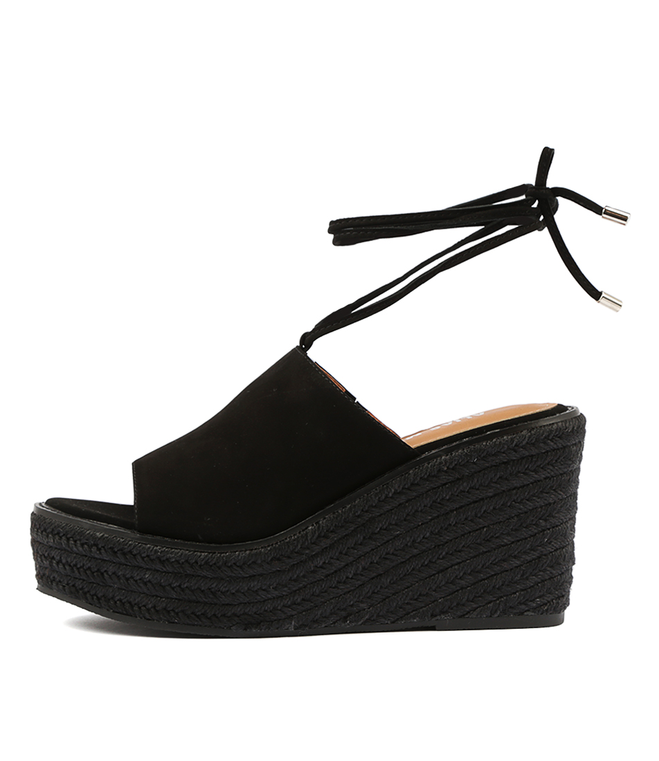 Buy Alias Mae Kahlo Black Heeled Sandals online with free shipping