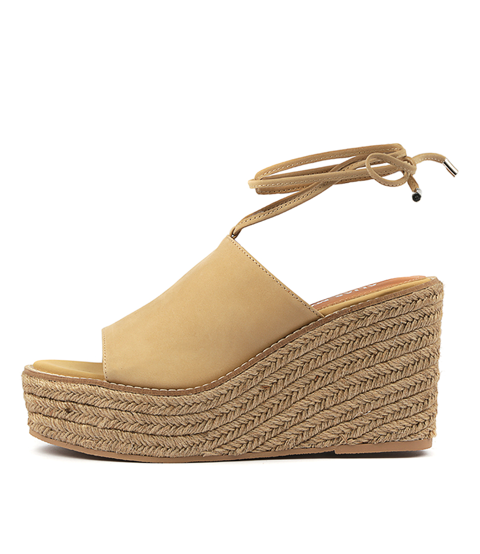 Buy Alias Mae Kahlo Natural Heeled Sandals online with free shipping