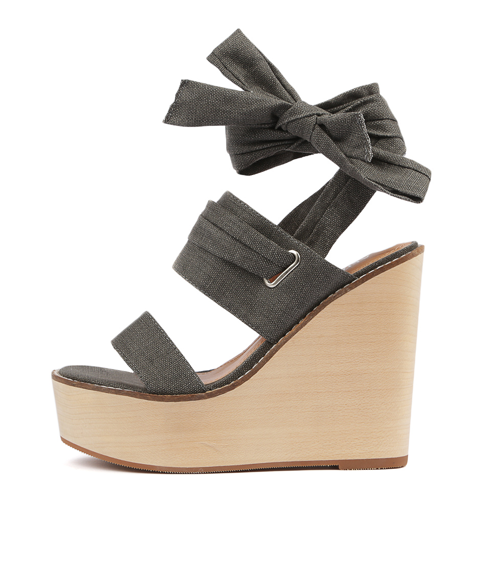 Buy Alias Mae Kenna Am Charcoal Heeled Sandals online with free shipping