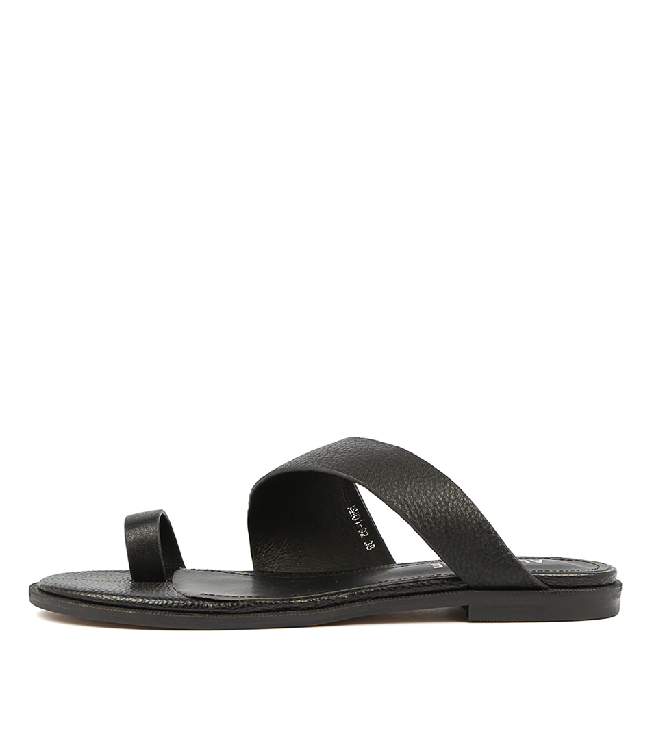 Buy Alias Mae Thalissa Black Flat Sandals online with free shipping