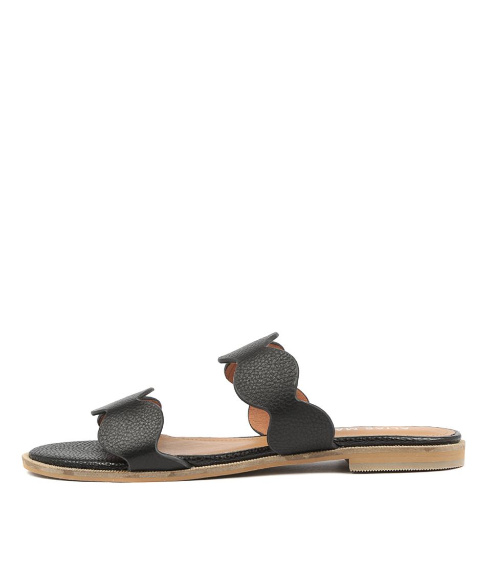 Alias Mae Thia Black Sandals