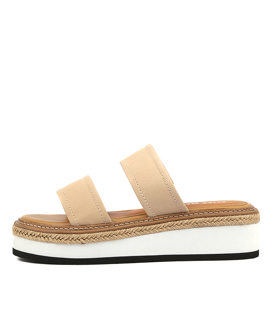 Buy Alias Mae Niacin Natural Flat Sandals online with free shipping
