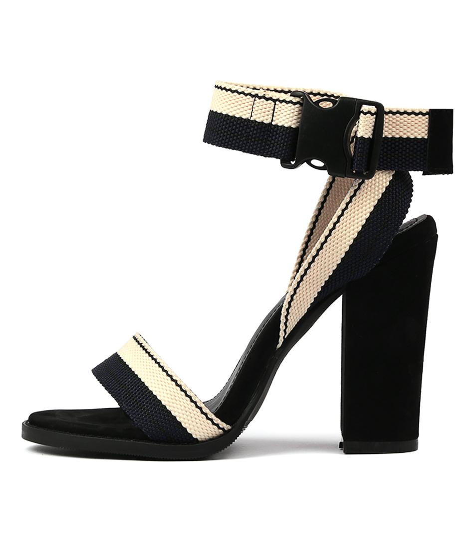 Buy Alias Mae Aarika Navy Heeled Sandals online with free shipping