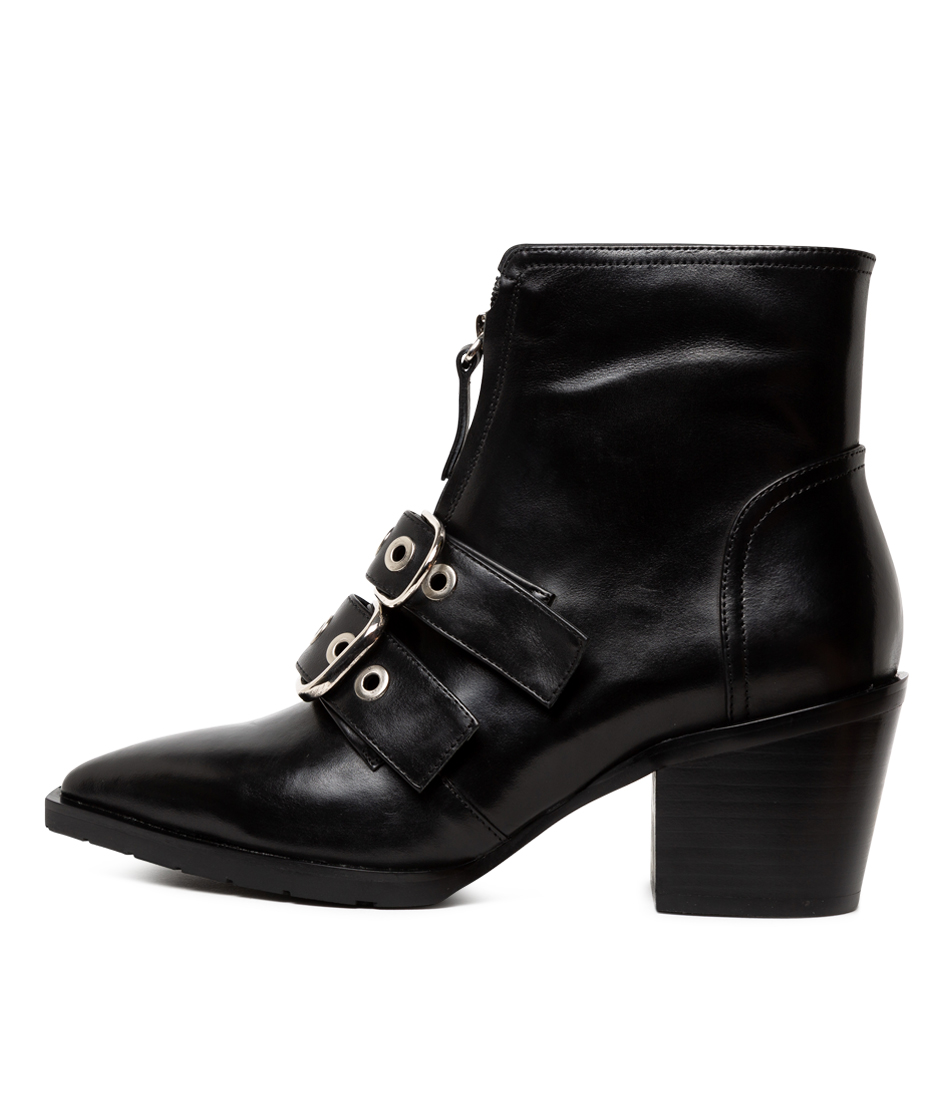 Buy Alias Mae Justice Am Black Ankle Boots online with free shipping