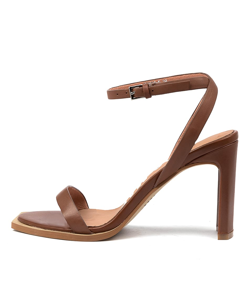 Buy Alias Mae Clara Am Dk Tan Heeled Sandals online with free shipping