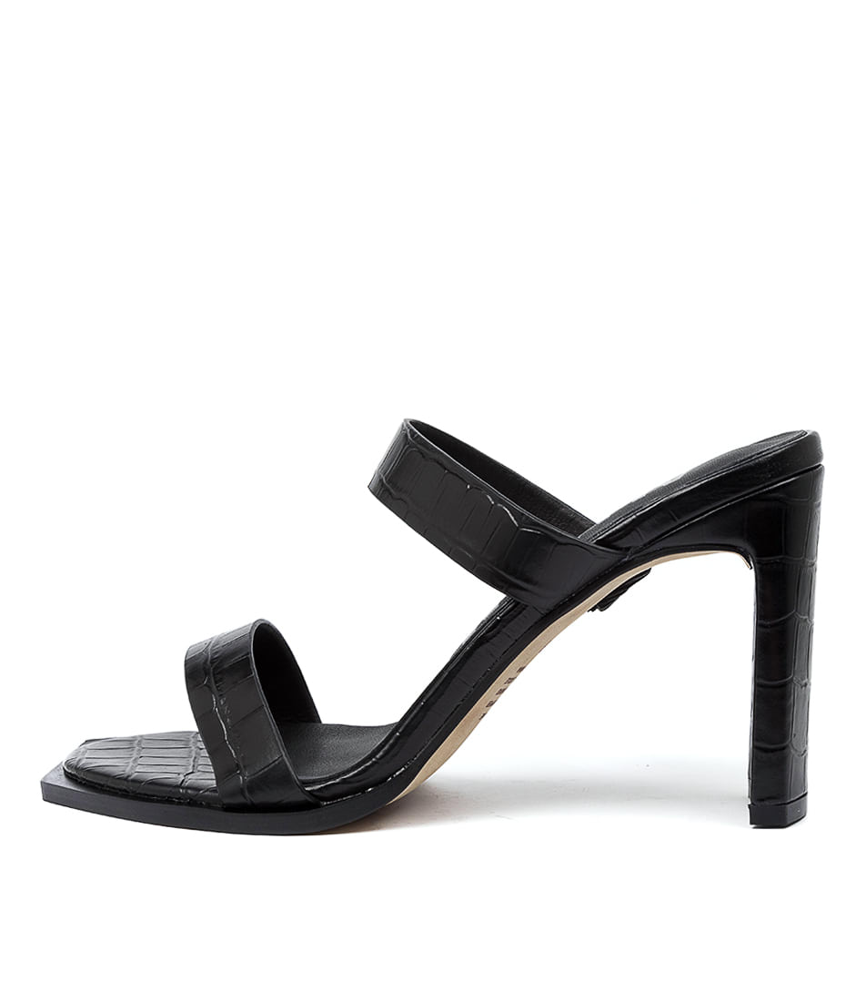 Buy Alias Mae Cleo Am Black Heeled Sandals online with free shipping