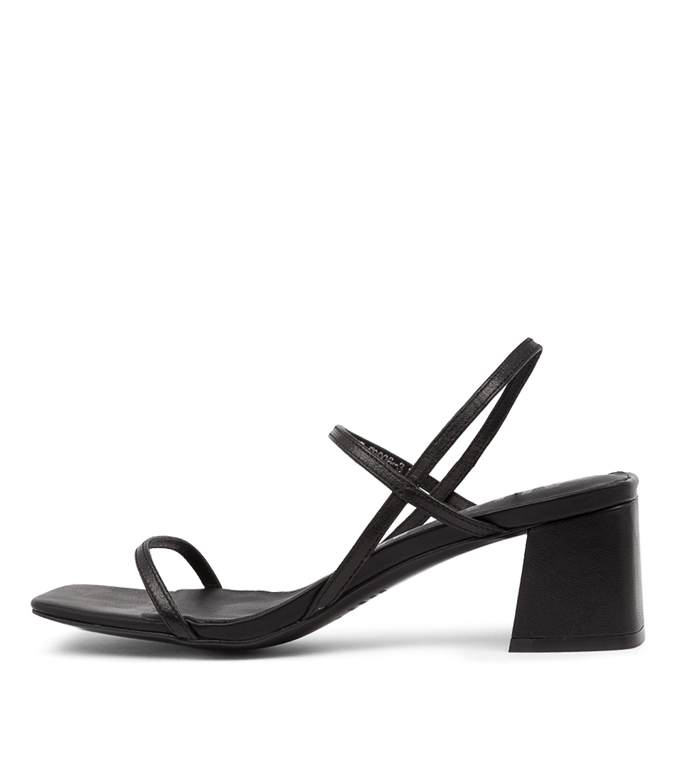 Buy Alias Mae Henri Am Black Heeled Sandals online with free shipping