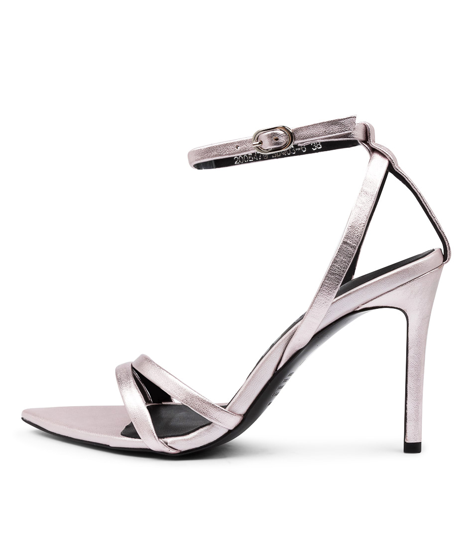 Buy Alias Mae Duana Am Rose Metallic Heeled Sandals online with free shipping