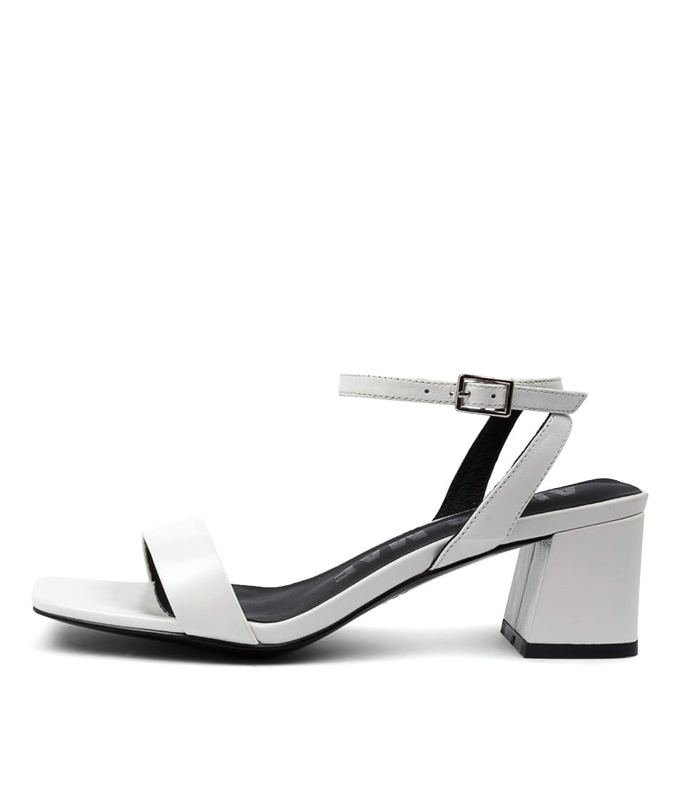 Buy Alias Mae Heidi Am White Heeled Sandals online with free shipping
