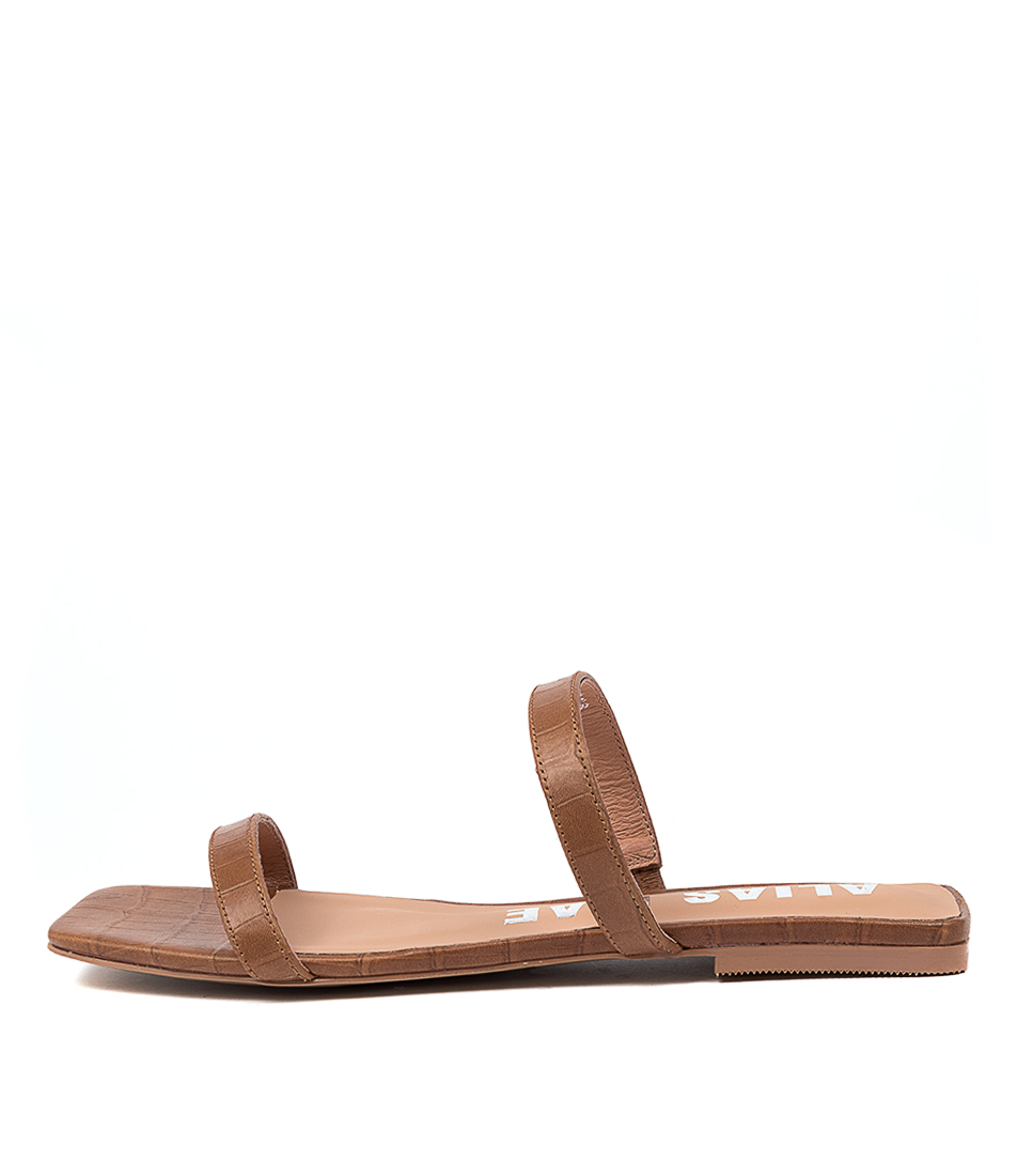 Buy Alias Mae Prim Am Tan Flat Sandals online with free shipping