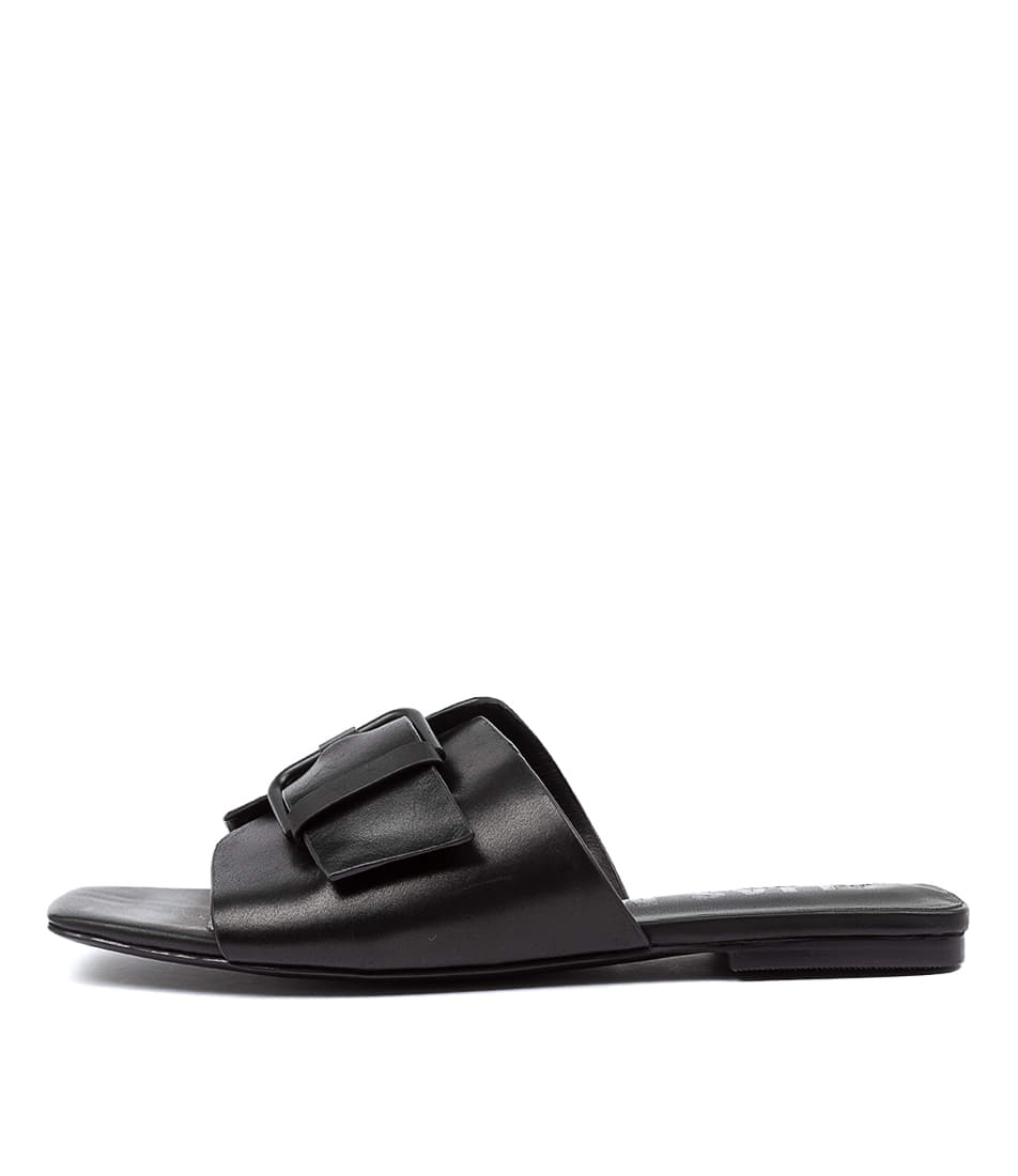 Buy Alias Mae Prima Am Black Flat Sandals online with free shipping
