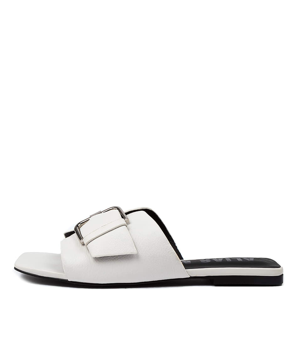 Buy Alias Mae Prima Am Ivory Flat Sandals online with free shipping