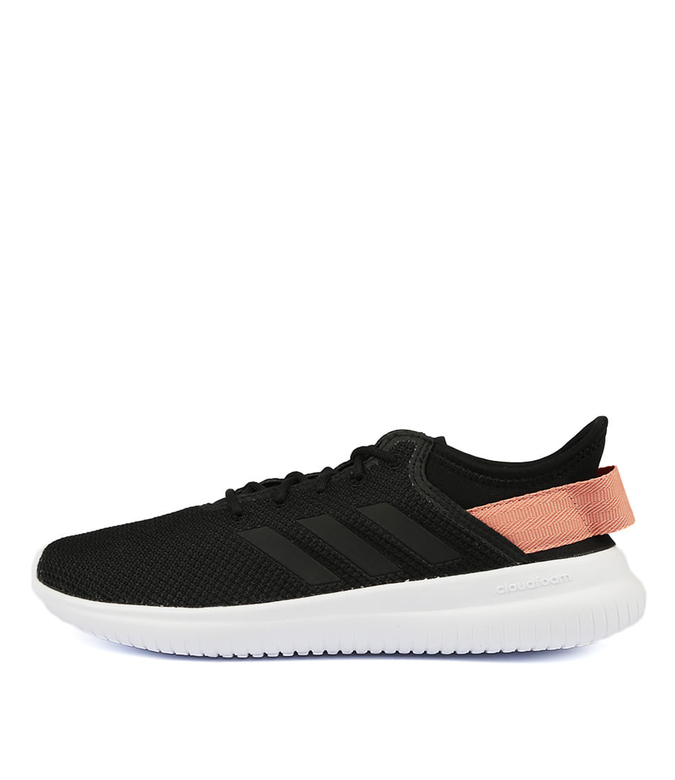 Adidas Neo Cf Qt Flex Black Pin Sneakers