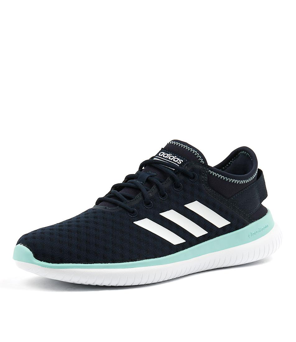 Adidas Neo Cf Qt Flex Navy White Aqua Sneakers
