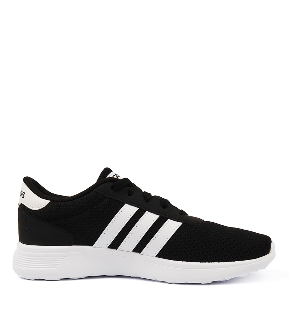 Adidas White Synthetic Leather Sports Shoes