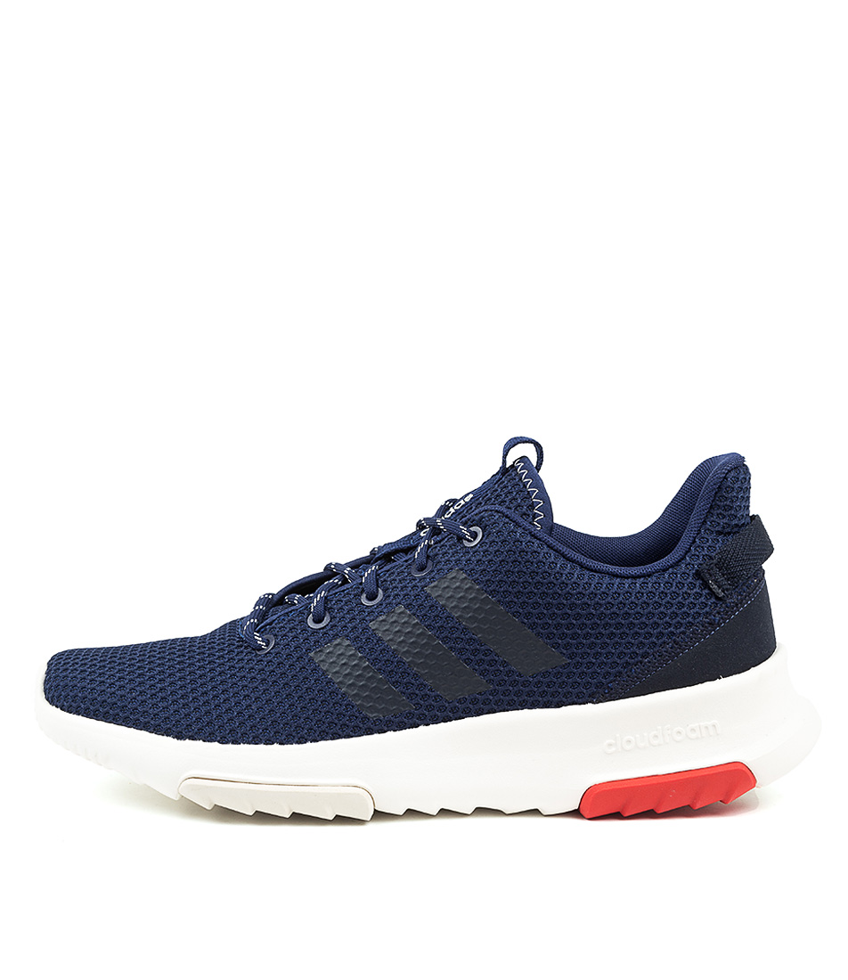 Buy Adidas Neo Cf Racer Tr Blue Red Sneakers online with free shipping