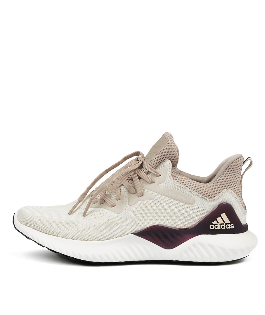 Adidas Neo Alphabounce Beyond Ecru Pearl Whit Sneakers