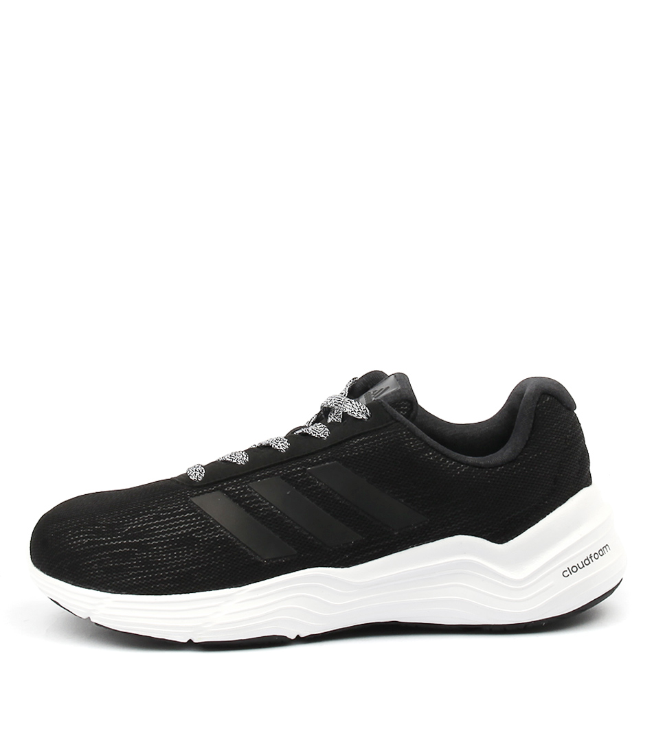 Adidas Performance Fluidcloud Bold Black White Sneakers