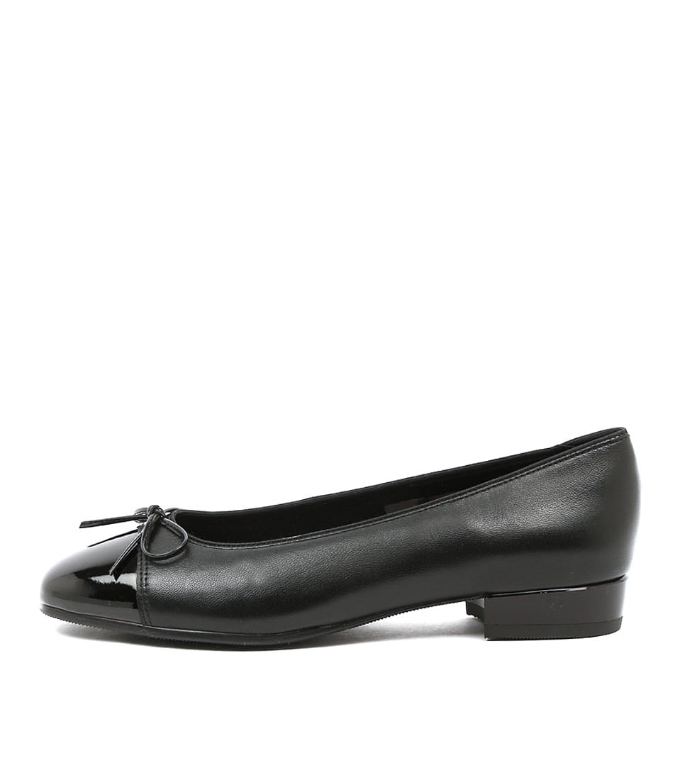 Buy Ara Bari 08 Schwarz Flats online with free shipping