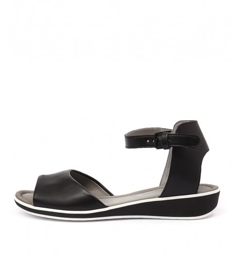 Ara Lucca 03 Schwarz Heeled Sandals