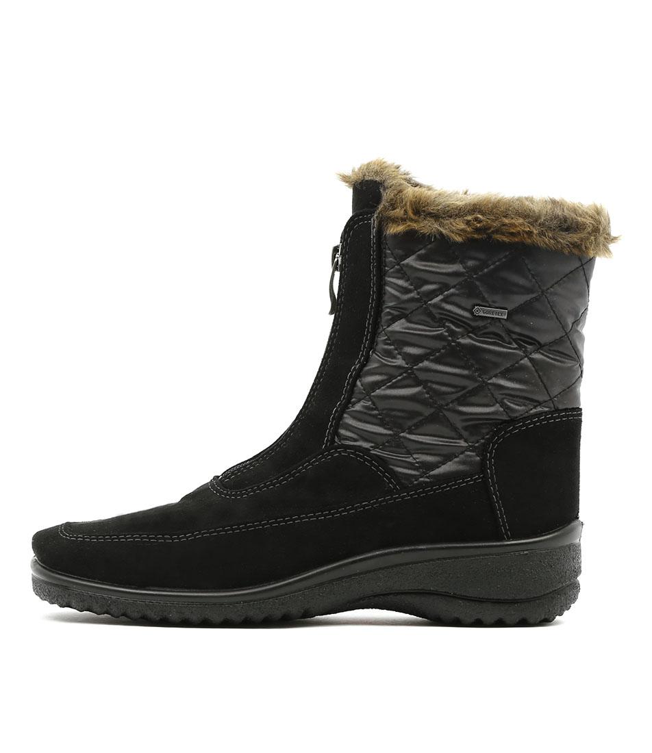 Ara Munchen 08 Schwarz Ankle Boots