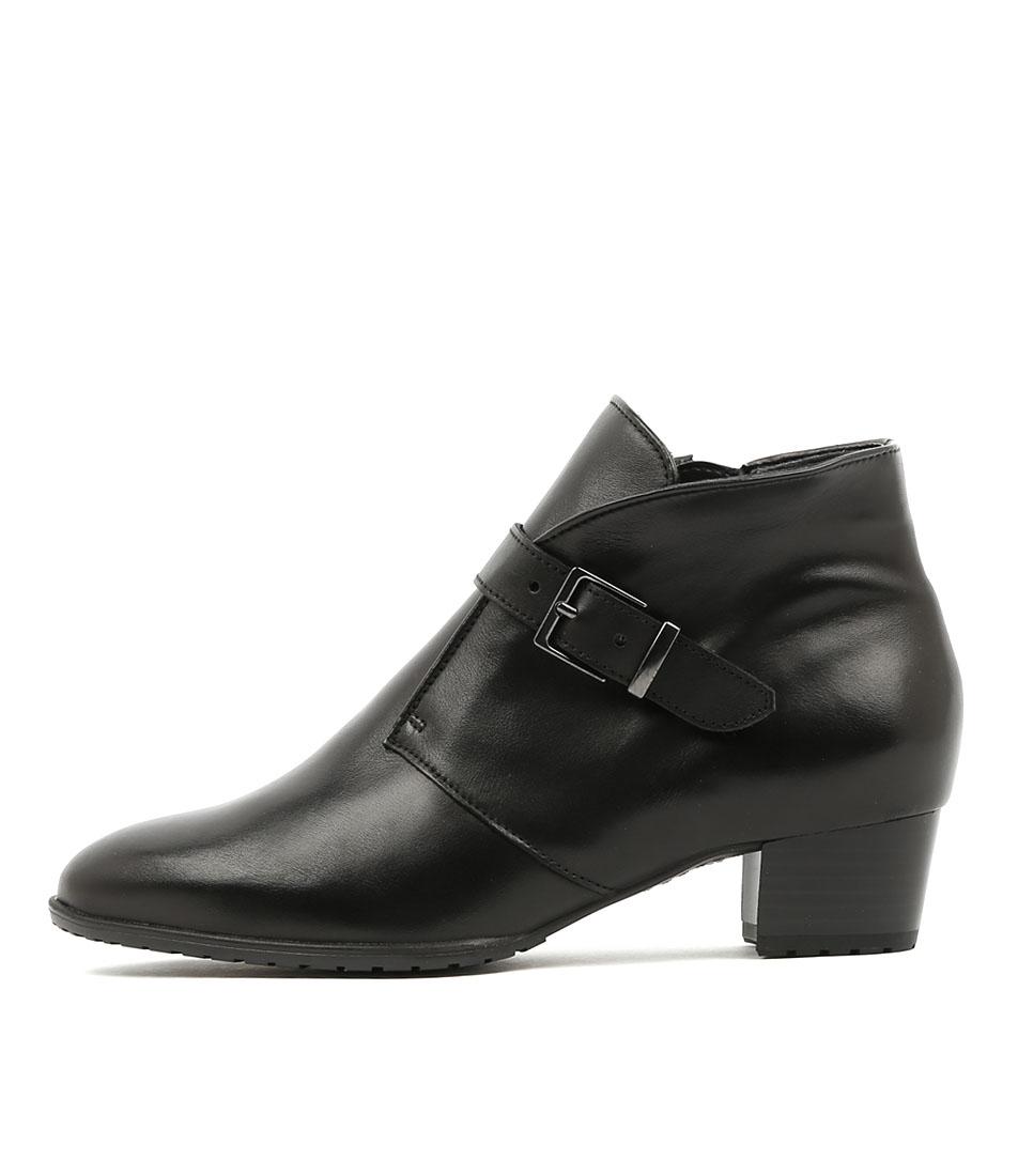 Ara Padua 23 Schwarz Boots Ankle Boots