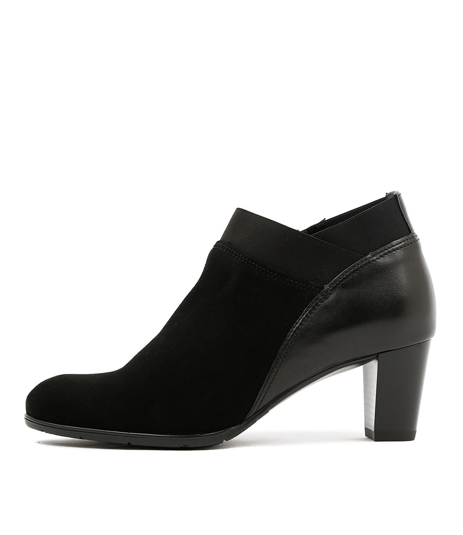 Ara Toulouse 42 Schwarz Dress Ankle Boots