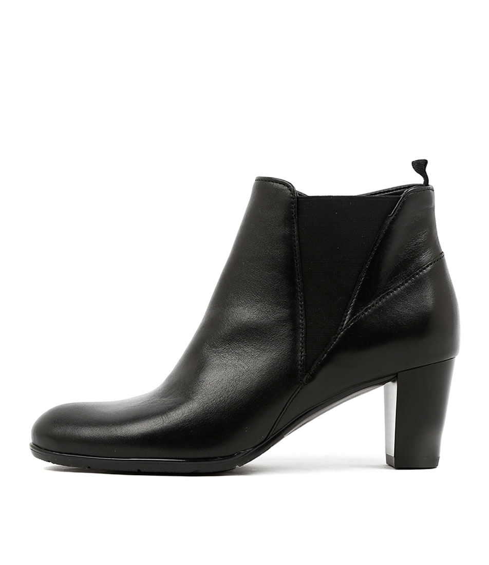 Ara Toulouse 49 Schwarz Dress Ankle Boots