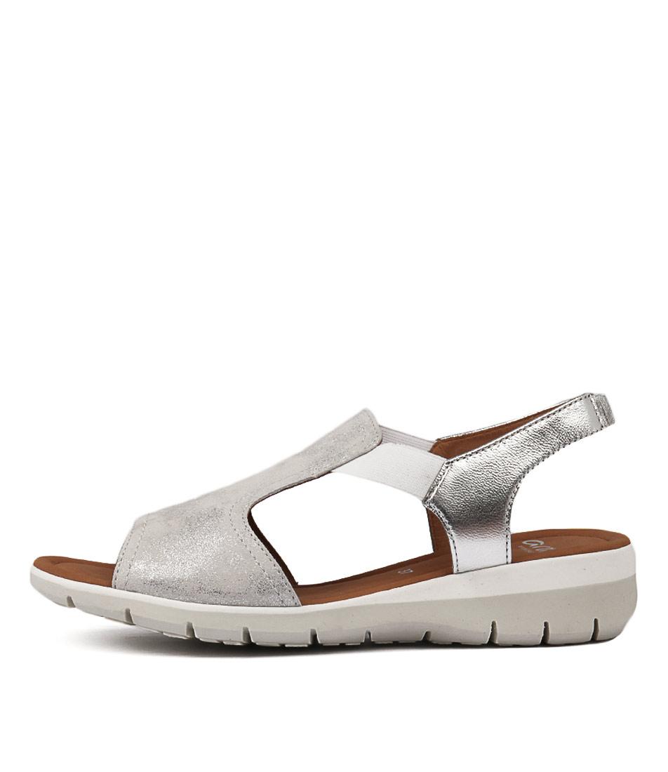 Ara Lido 17 Silber Sandals
