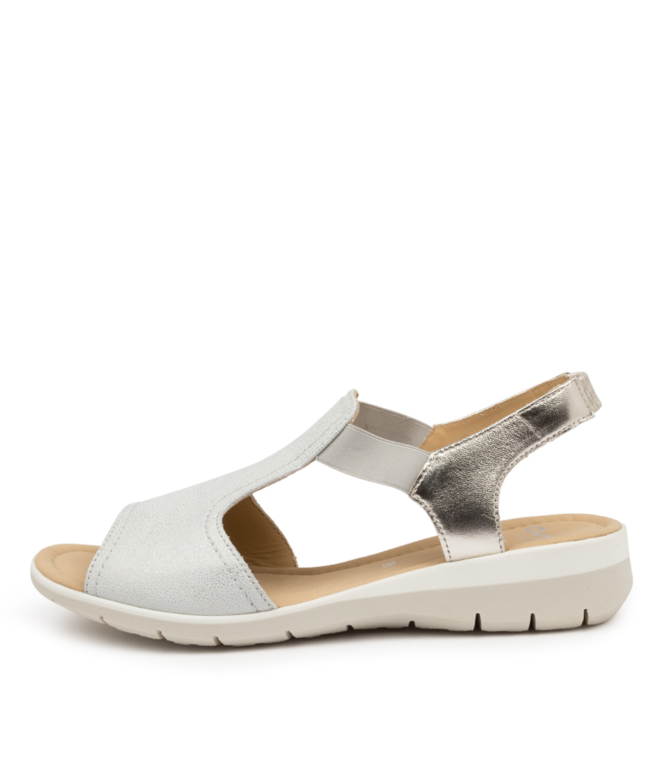 Buy Ara Lido 17 Silber Flat Sandals online with free shipping