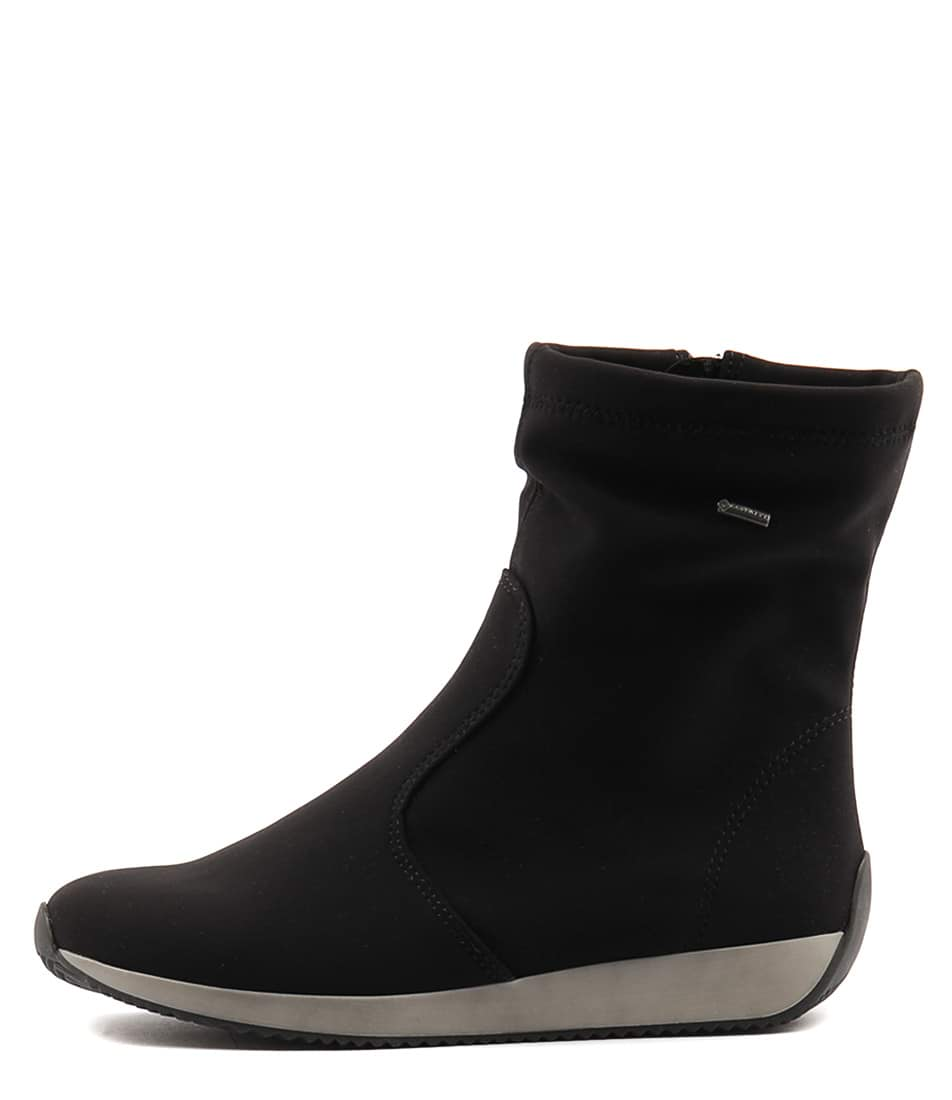 Buy Ara Lissabon 37 Schwarz Calf Boots online with free shipping