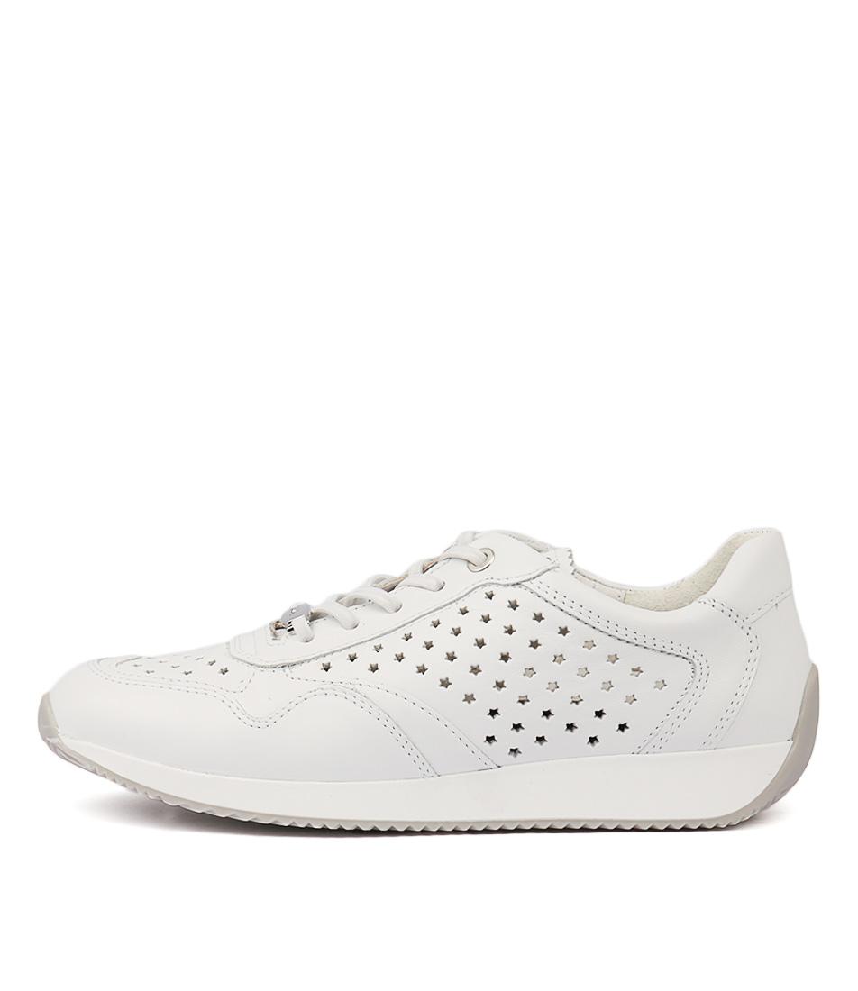 Ara Lissabon 46 Weiss Sneakers