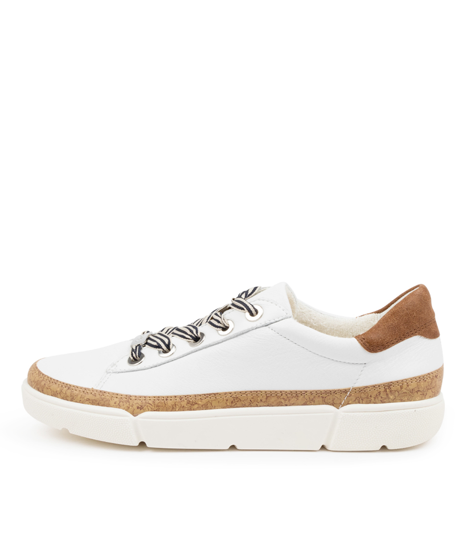 Buy Ara Rom 04 Ar Weiss Combi Sneakers online with free shipping