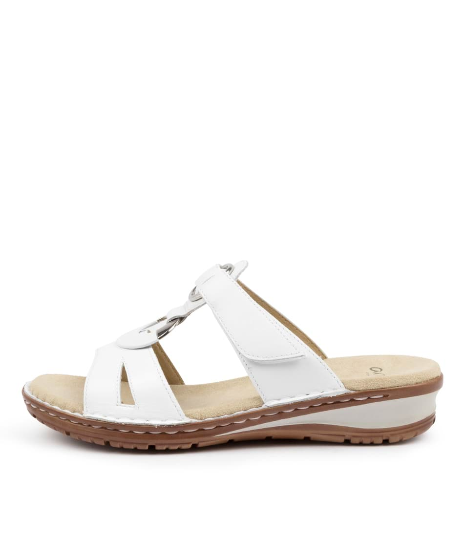Buy Ara Hawaii 33 Ar Weiss Flat Sandals online with free shipping