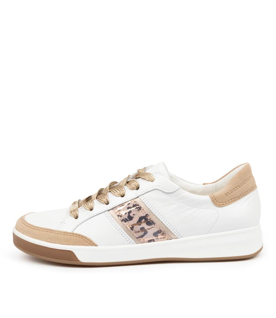 Buy Ara Rom 71 Ar Camel Weiss Sneakers online with free shipping