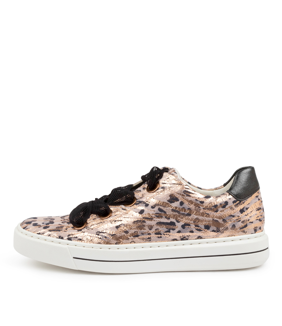 Buy Ara Courtyard 09 Ar Pink Leopard Sneakers online with free shipping