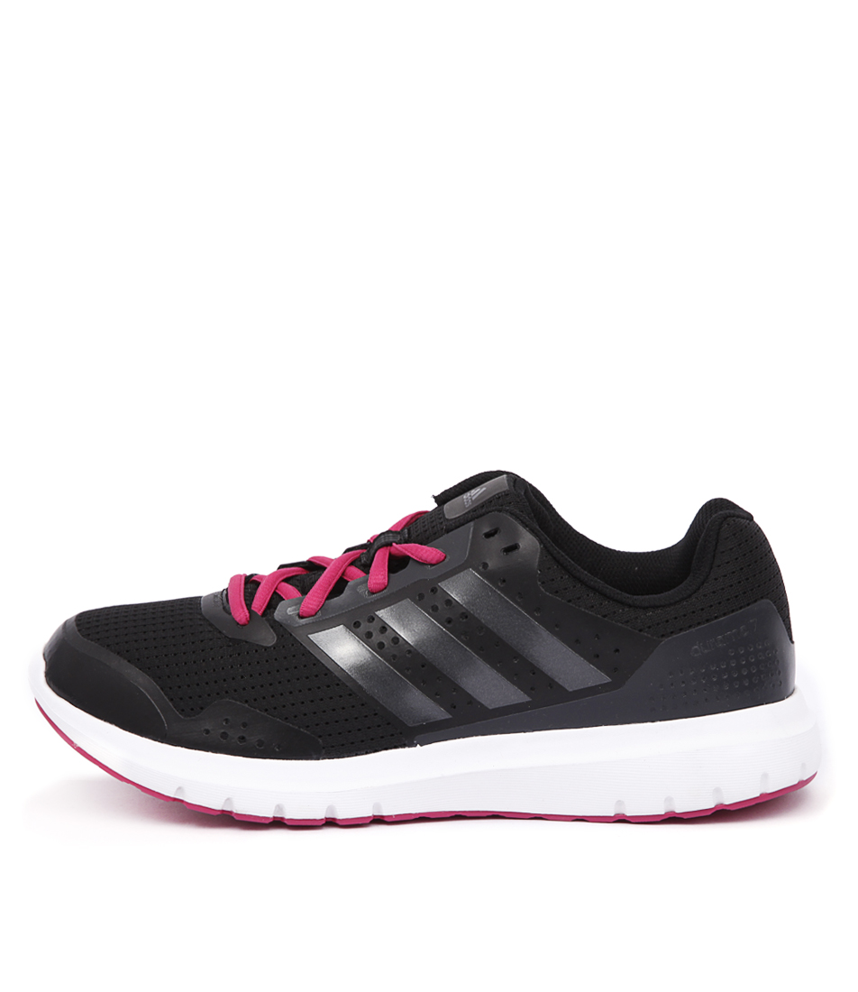 Adidas Performance Duramo 7 Black Pink Sneakers