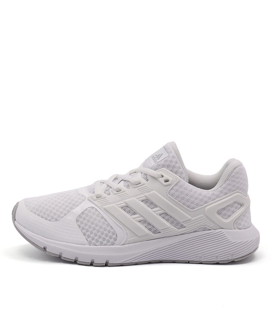 Adidas Performance Duramo 8 White White Gre Sneakers