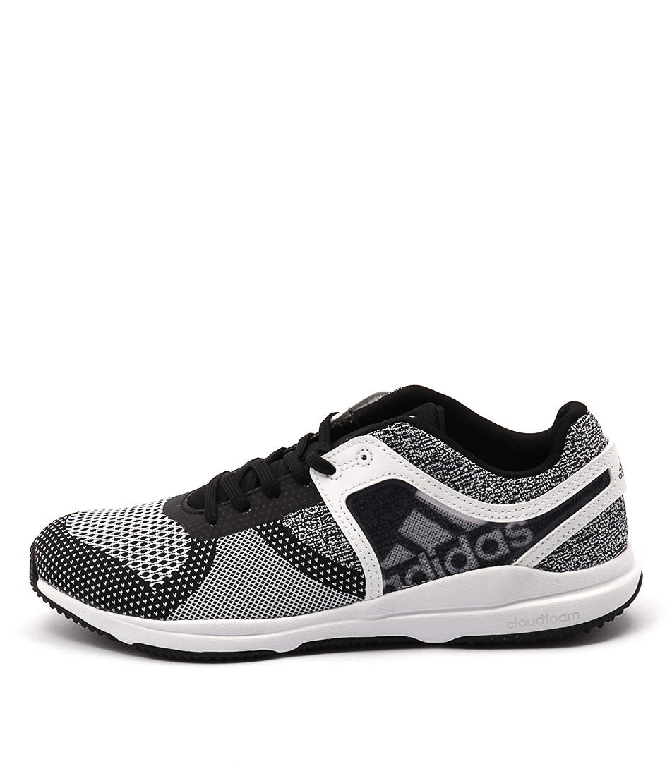 Adidas Performance Crazytrain Cf Black White Bla Sneakers