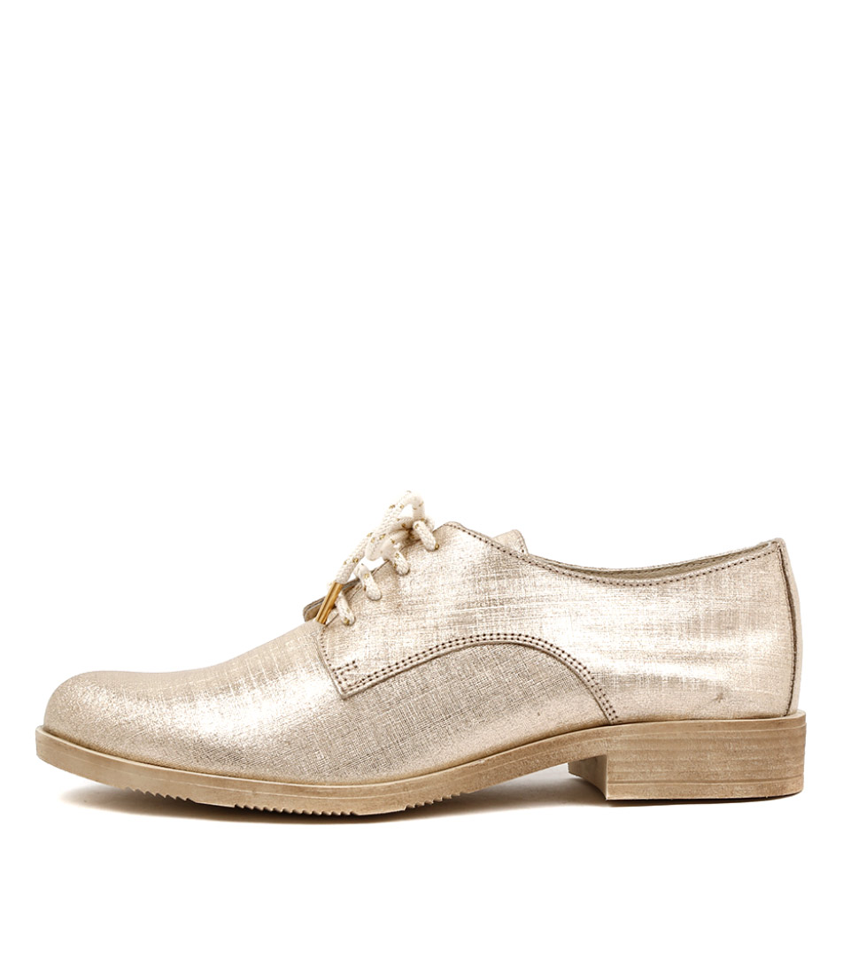 Beltrami Fast Gold Flat Shoes