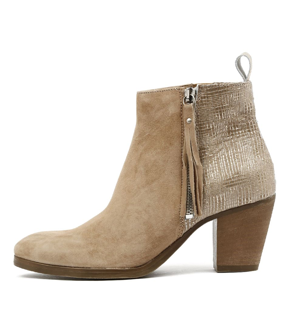 Buy Beltrami Fantasia Taupe Ankle Boots online with free shipping