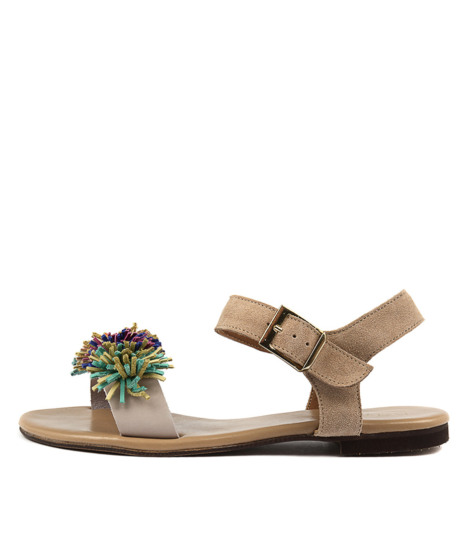 Beltrami Kata Natural Casual Flat Sandals
